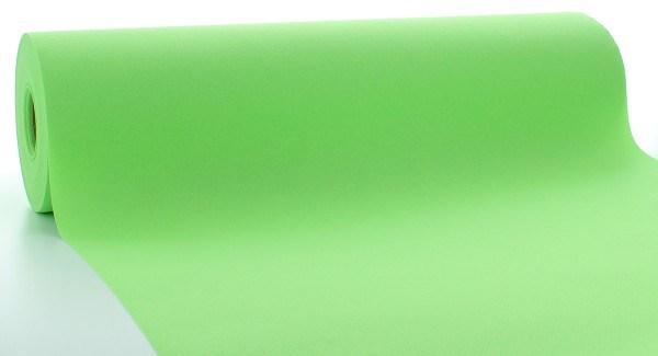 Tischläufer Apfelgrün aus Linclass® Airlaid 40 cm x 24 m, 1 Stück
