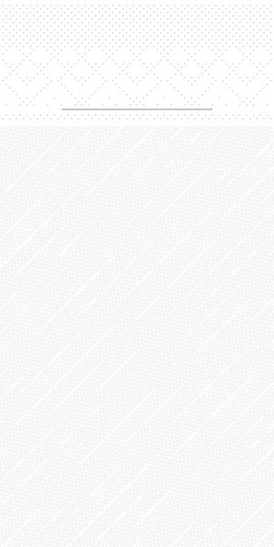 Besteckserviette Weiß aus Tissue Deluxe® 40 x 40 cm, 100 Stück
