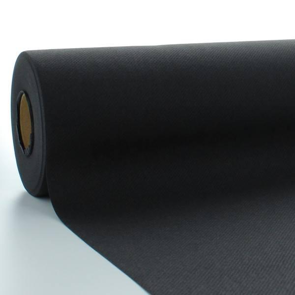 Tischdeckenrolle Schwarz aus Linclass® Airlaid 120 cm x 25 m, 1 Stück
