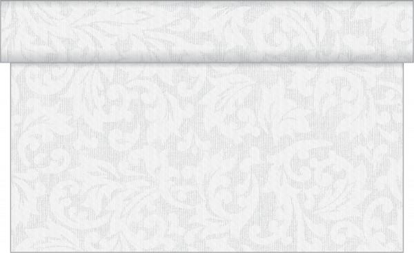 Tischläufer Mika in hellgrau aus Linclass® Airlaid 40cm x 24 m, 1 Stück