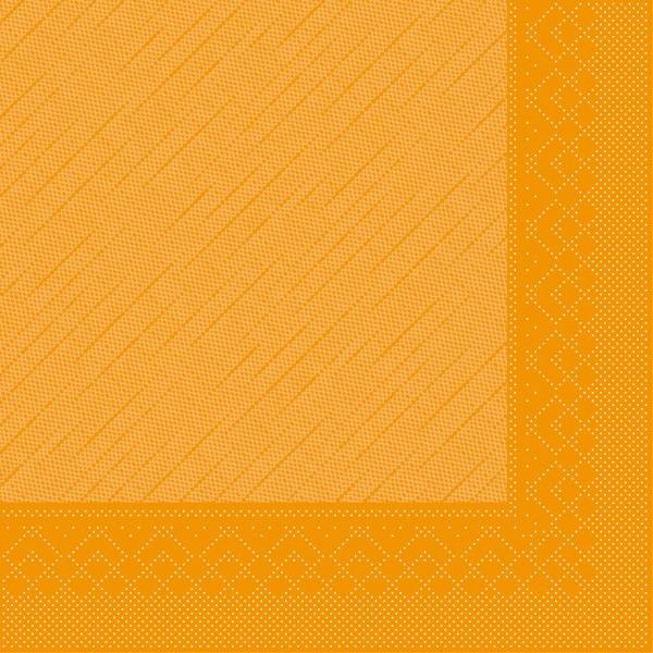 Serviette Curry aus Tissue Deluxe®, 4-lagig, 40 x 40 cm, 50 Stück