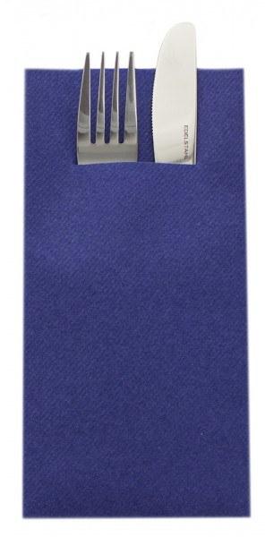 Unibesteckserviette-royalblau-Airlaid-SovieHome-68469