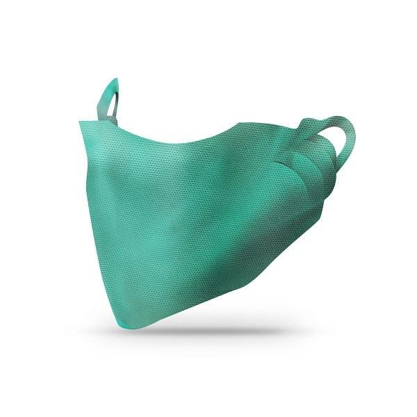 Sovie Care Einweg Behelfs- Mund- und Nasenmaske M1 in Türkis aus PP-Vlies - 100 Stück - Masken