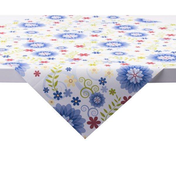 Tischdecke Rahel in Blau aus Linclass® Airlaid 80 x 80 cm, 1 Stück