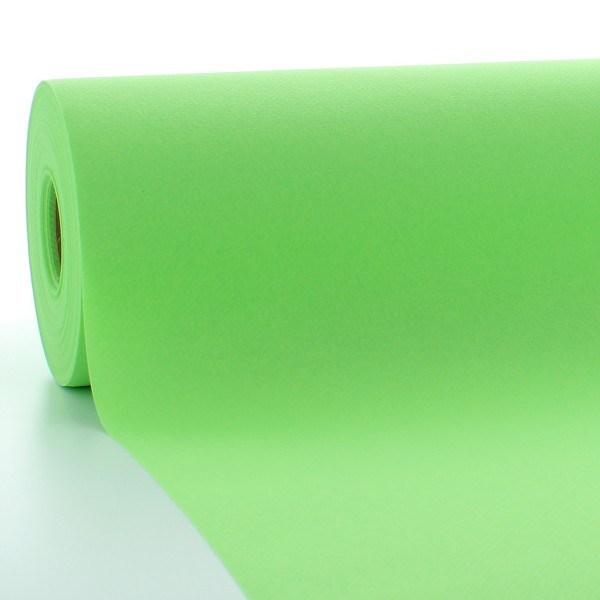 Tischdeckenrolle Apfelgrün aus Linclass® Airlaid 120 cm x 25 m, 1 Stück