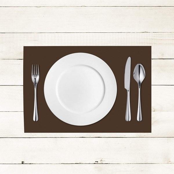 Tischset Braun aus Linclass® Airlaid 40 x 30 cm, 100 Stück