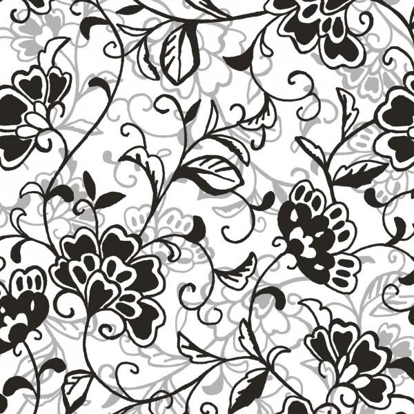 Serviette Liv in Schwarz aus Linclass® Airlaid 40 x 40 cm, 12 Stück