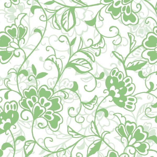 Serviette Liv in Apfelgrün aus Linclass® Airlaid 40 x 40 cm, 12 Stück