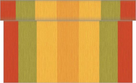 Tischläufer Britta in Terrakotta aus Linclass® Airlaid 40 cm x 24 m, 1 Stück