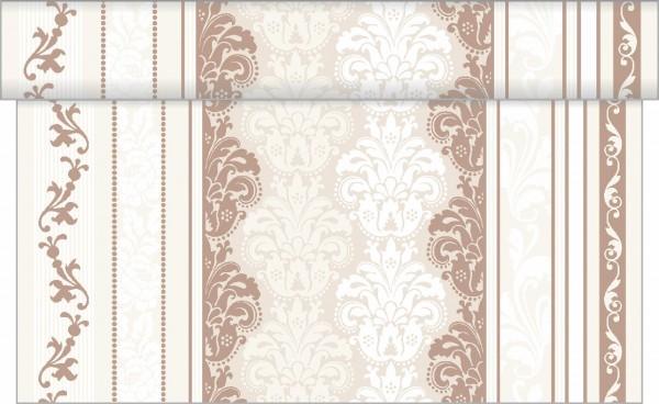 Tischläufer Marius in Braun aus Linclass® Airlaid 40 cm x 4,80 m, 1 Stück