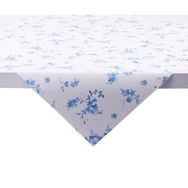 Tischdecke Bonnie in Blau aus Linclass® Airlaid 80 x 80 cm, 1 Stück