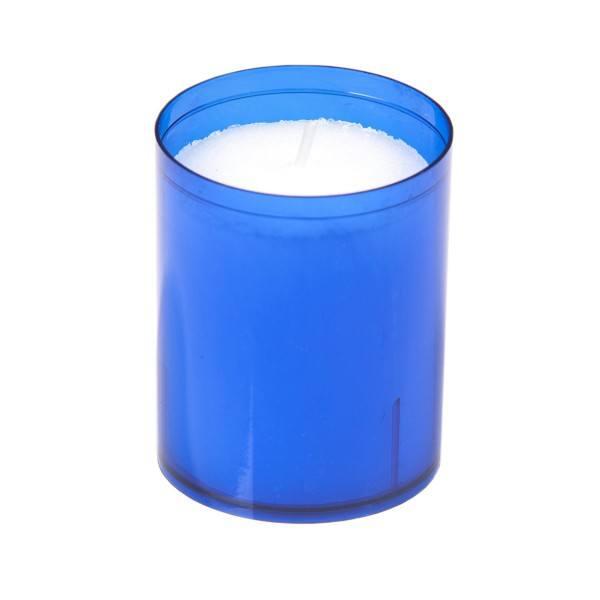 Sovie® Refill Kerzen in blau 24 Stück im Tray