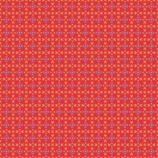Tischdecke Scarlett in Rot-Blau aus Linclass® Airlaid 80 x 80 cm, 20 Stück