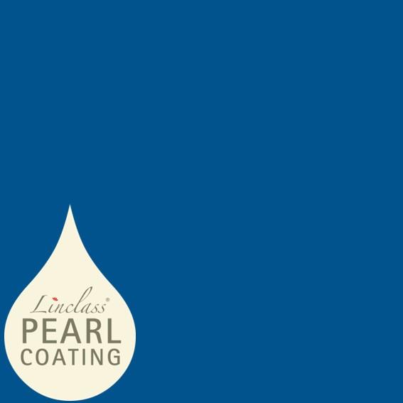Tischdecke Royalblau mit Pearl Coating (wasserabweisend) 80 x 80 cm, 15 Stück