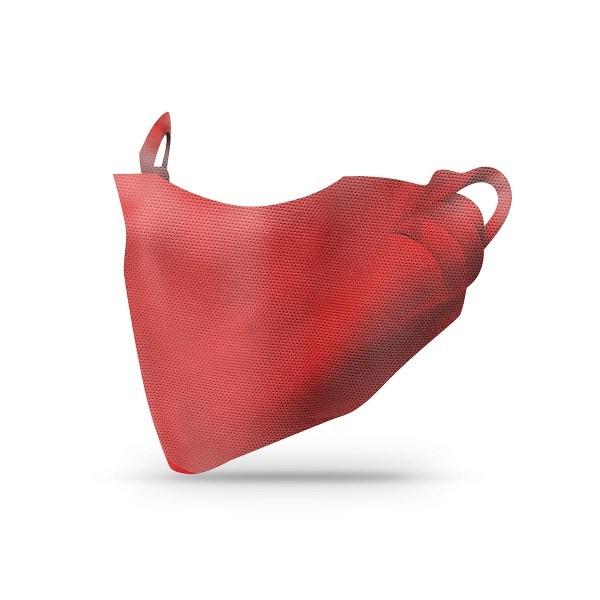 Sovie Care Einweg Behelfs- Mund- und Nasenmaske M1 in Bordeaux aus PP-Vlies - 2.000 Stück - Masken