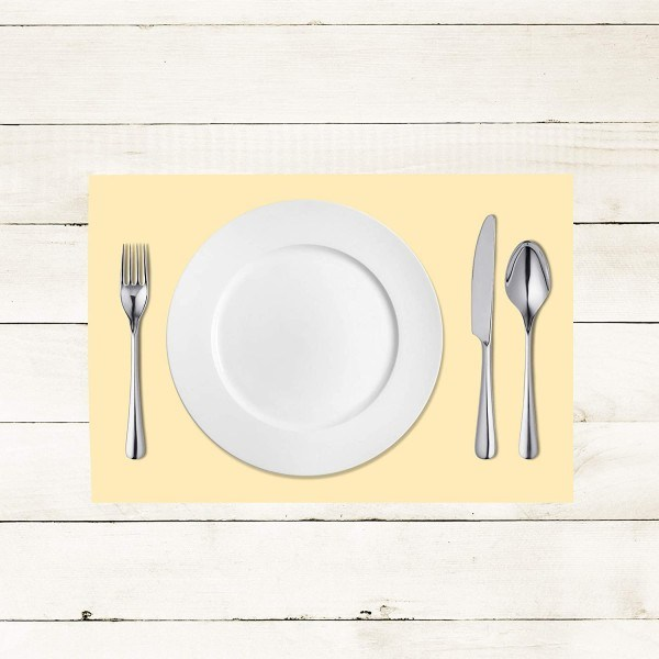 Tischset Creme aus Linclass® Airlaid 40 x 30 cm, 100 Stück
