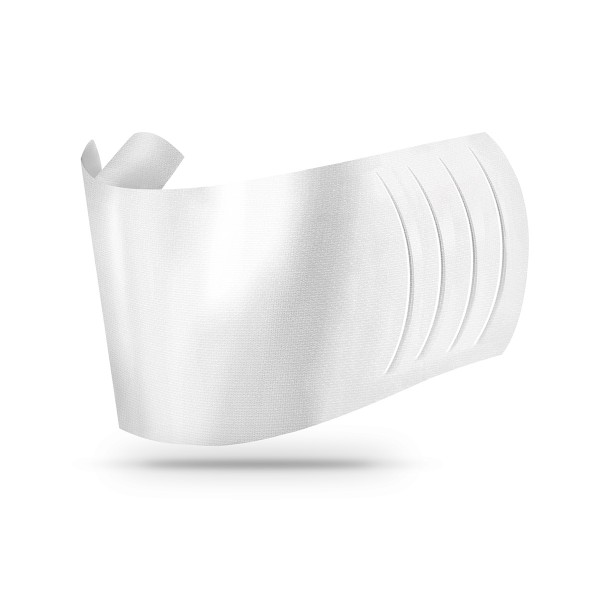 Sovie Care Einweg Behelfs- Mund- und Nasenmaske M2 in Weiss aus Linclass-Vlies - 60 Stück - Masken