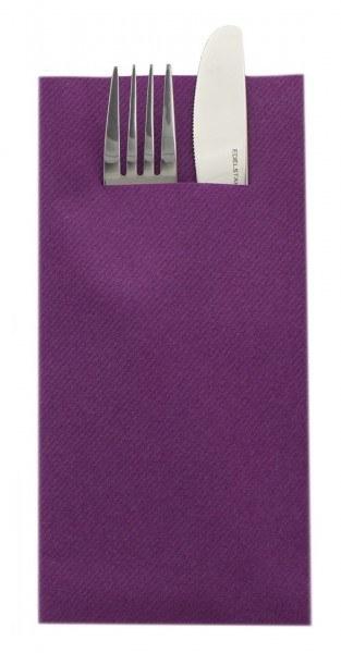Unibesteckserviette-aubergine-Airlaid-SovieHome-68467