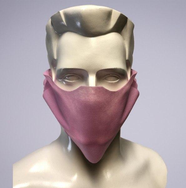 Sovie Care Einweg Behelfs- Mund- und Nasenmaske M1 in Rosa aus PP-Vlies - 100 Stück - Masken