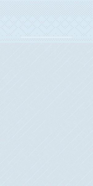 Besteckserviette Hellblau aus Tissue Deluxe® 40 x 40 cm, 100 Stück
