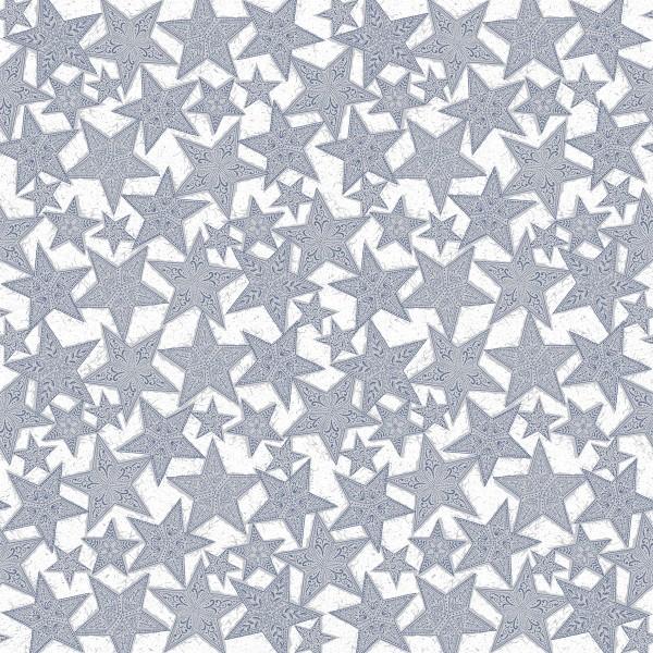 Tischdecke Gitte in Silber-Blau aus Linclass® Airlaid 80 x 80 cm, 20 Stück