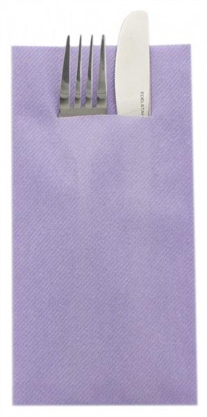 Besteckserviette Lila aus Linclass® Airlaid 40 x 40 cm, 75 Stück