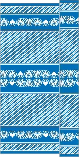 Tischdeckenrolle Bavaria in blau aus Linclass® Airlaid 120 cm x 25 m, 1 Stück