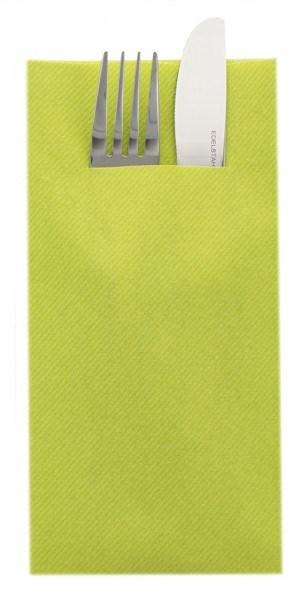Besteckserviette Kiwi aus Linclass® Airlaid 40 x 40 cm, 75 Stück