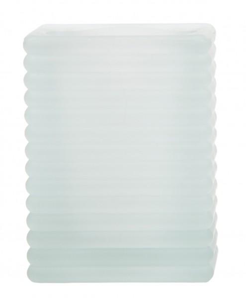 Kerzenglas Cube Frostig/Milchig für Sovie® Refill Kerzen