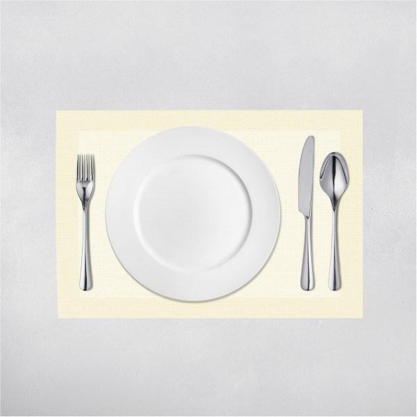 Tischset Mailand in Beige aus Linclass® Airlaid 40 x 30 cm, 100 Stück