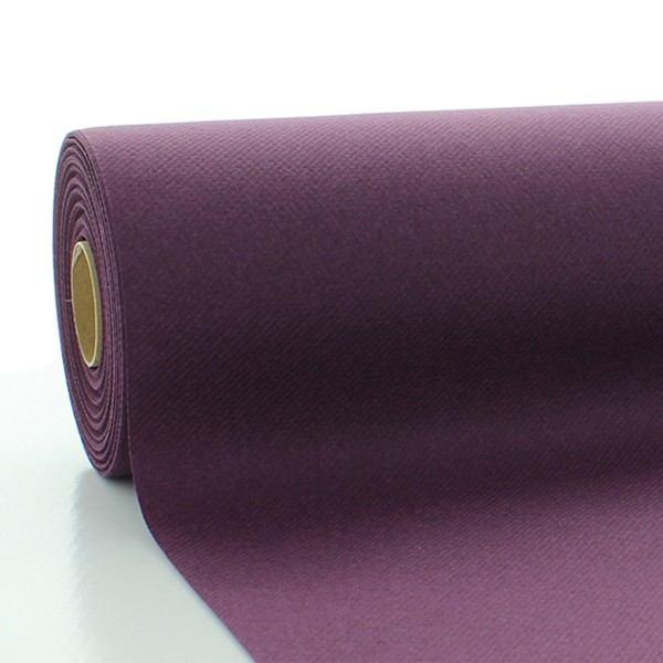 Tischdeckenrolle Pflaume aus Linclass® Airlaid 120 cm x 25 m, 1 Stück