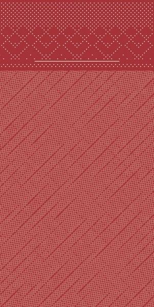 Besteckserviette Bordeaux aus Tissue Deluxe® 40 x 40 cm, 100 Stück