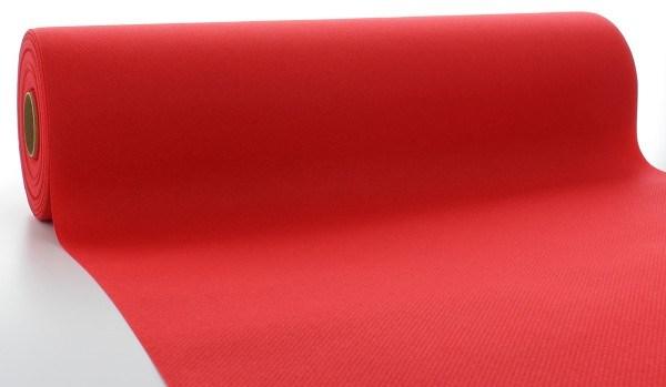 Tischläufer Rot aus Linclass® Airlaid 40 cm x 24 m, 1 Stück