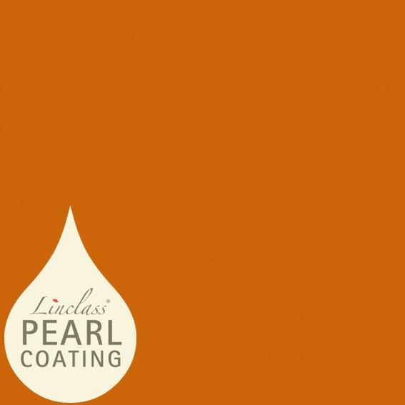 Tischdecke Terrakotta mit Pearl Coating (wasserabweisend) 80 x 80 cm, 15 Stück