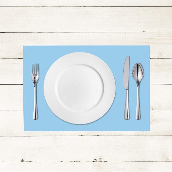 Tischset Hellblau aus Linclass® Airlaid 40 x 30 cm, 100 Stück
