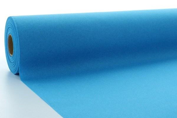 Airlaid Tischdeckenrolle Aquablau, 80 cm x 40 m , 1 Stück