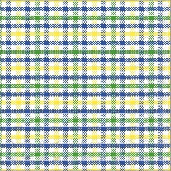 Serviette Emil in blau aus Tissue 33 x 33 cm, 100 Stück