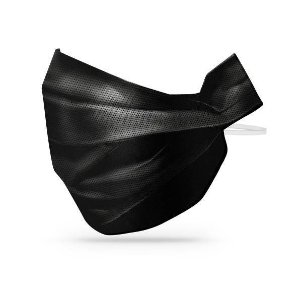 Sovie Care Einweg Behelfs- Mund- und Nasenmaske M3 in Schwarz aus PP-Vlies 10 Stück - Masken