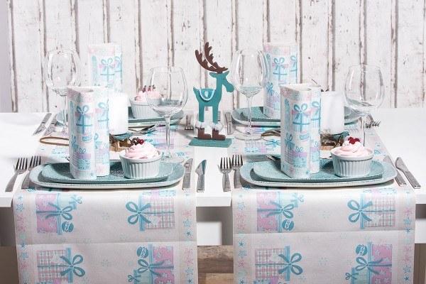 Serviette Cady in Pastell aus Linclass® Airlaid 40 x 40 cm, 12 Stück