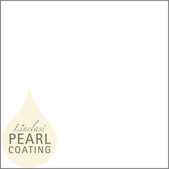 Tischdecke in Weiß mit Pearl Coating (wasserabweisend) 80 x 80 cm, 15 Stück