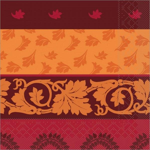 Serviette Amadeus in braun aus Tissue 40 x 40 cm, 100 Stück