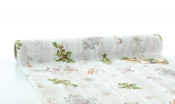 Tischläufer Puppy aus Linclass® Airlaid 40 cm x 4,8 m, 1 Stück