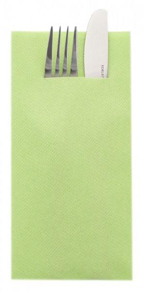 Besteckserviette Apfelgrün aus Linclass® Airlaid 40 x 40 cm, 75 Stück