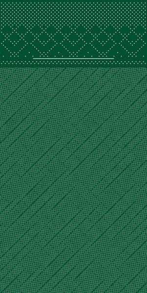 Besteckserviette Grün aus Tissue Deluxe® 40 x 40 cm, 100 Stück