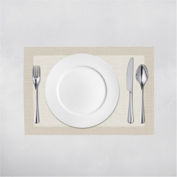 Tischset Mailand in Grau aus Linclass® Airlaid 40 x 30 cm, 100 Stück