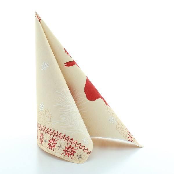 Serviette Sarah aus Linclass® Airlaid 40 x 40 cm, 50 Stück
