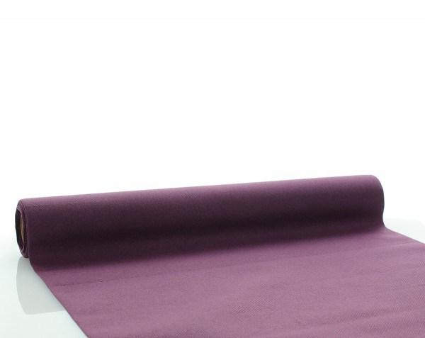 Tischläufer Pflaume aus Linclass® Airlaid 40 cm x 4,80 m, 1 Stück