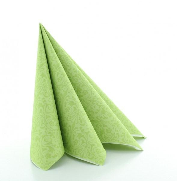 Serviette Janet in pistazie aus Linclass® Airlaid 40 x 40 cm, 50 Stück