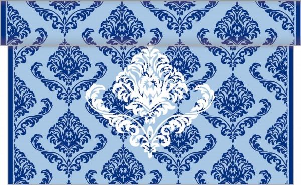 Tischläufer Giorgio in Blau aus Linclass® Airlaid 40 cm x 4,80 m, 1 Stück