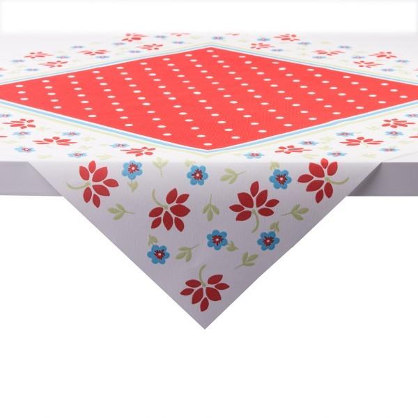 Tischdecke Lea in rot aus Linclass® Airlaid 80 x 80 cm, 20 Stück